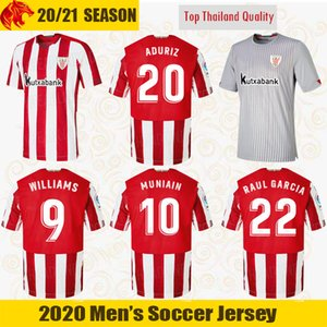 20 21 Athletic Bilbao Soccer Jerseys RAUL GARCIA 2020 2021 WILLIAMS ADURIZ Football shirt VILLALIBRE Athletic Club MUNIAIN Jersey