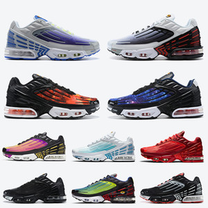 2020 New Top Fashion Tn Plus 3 Tuned Mens Running Shoes Laser Red Preto Céu estrelado azul os esportes das mulheres Shoes Formadores Maxes Sneakers