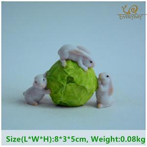 Everyday Collection Cute Miniature Cartoon Home Decoration Animal Figurine Fairy Garden Desktop Decor Easter Gift
