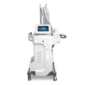 Vela Body White System Anti Cellulite Tratamiento Remografía de arrugas Cavitación ultrasónica RF Rod Rodillo de vacío Máquina de rodillo de vacío