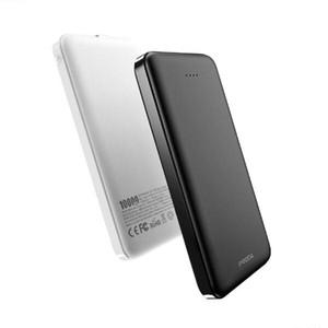 Banco móvil PRODA 10000 mAh puerto de salida dual teléfono móvil portátil de carga rápida tesoro, blanca