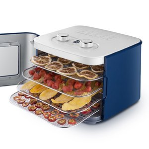 Desidratador Dried Fruit Machine 4 camadas Fruit Snacks vegetais desidratados Máquina de Secar Roupa Pet Snack 220V