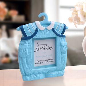 Hot Boy Girl Photo Frame Mini Dress Shape Photo Holder for Kids Baby Birthday DIY Cute Picture Frames Creative Frames