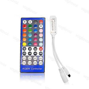 RGBW تحكم البسيطة 40Keys 72W 144W 6A DC5-24V مستلزمات إضاءة 4CH للحصول على 5050 3528 2835 RGBW قطاع وحدات الحائط غسل مصباح DHL