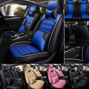 Pelle Universale Fly5D coprisedili auto nuove coperture di sede dell'automobile design di alta moda dell'unità di elaborazione universale coprisedili in pelle auto 5d