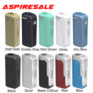 Authentic Yocan UNI Box Mod 650mAh Preheat Variable Voltage VV Battery For 510 Thick Oil Vape Cartridge Ecig Mods