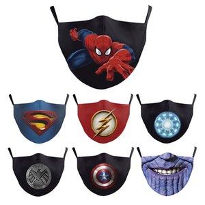 Disfraces Cosplay temáticas héroe mascarilla Avenger Super Hero Party Sombrero adultas accesorios del traje de Halloween Marvel Super