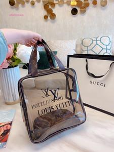 Двухсекционный хозяйственная сумка желе мешок пляж печати высокого качества роскошных женщин сумка Бесплатная доставка 041930