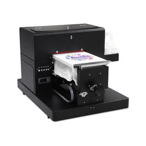 Impresora DTG de alta calidad A4 Impresora de plataforma plana para camiseta Tarjeta de PVC Estuche para teléfono Impresora MULTI COLOR DTG Máquina de impresión