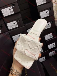 Bottega Veneta flip flop o i sandali signore ladiessandals buona scarpa piatta qualità di colore della caramella All'esterno di Casa Slides 35-42 di alta qualità