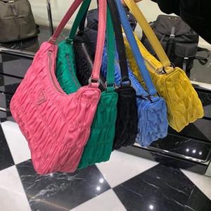 bolsa plegada moda bolsas de diseñador de las mujeres del hombro debajo del brazo del bolso del mensajero del monedero del bolso del cuerpo conjuntos de la cruz del bolso de la lona peto Los bolsos de carteras
