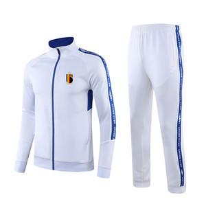 Бельгия F.C футбол спортивный костюм гольф костюм на открытом воздухе учебные наборы здоровья ткани вокруг шеи удобная одежда