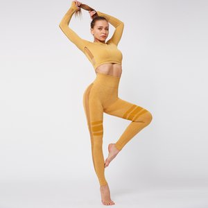 Women Seamless Yoga Suit Hip Lifting Yoga Pants Sports High Waist Fitness Pants Womens Tight Leggings Sexy Sports Fitness Suit