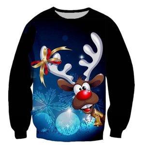 New arrive Merry Christmas reindeer 3D print men women fashion t shirt hoodies sweatshirts vest  tops dropshipping 0924
