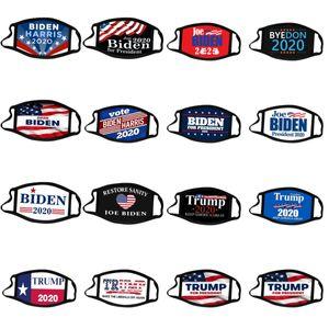 Joe Biden Harris Face Mask Biden Trump 2020 America Election Supplies US President Election Masks Dust-proof Trump 2020 Mask CYZ2696