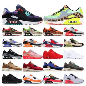 New 90 mens sneakers running shoes Dancefloor Green USA Supernova Camo green orange Olive white red womens sports trainers fashion outdoor