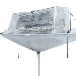 Acondicionador de aire de limpieza Limpiador de vapor Herramienta acondicionador de aire acondicionado de la cubierta montada en la pared cubierta de polvo de la limpieza de lavado de herramientas