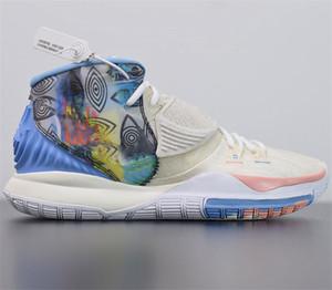 New Beetle 6 Oreo All-Star-Weiß Leopard-Basketball-Schuhe Los Angeles Heilt die Welt Ortseingangs Sport-Turnschuhe der Qualitäts-Schuhe