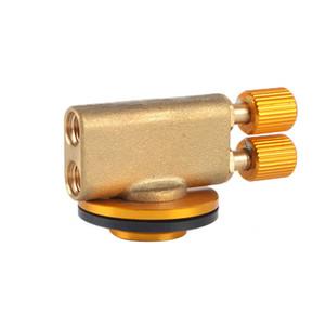 Плита переключатель клапан адаптер Пикник Плоского цилиндр с двойной головкой Открытого Кук газа