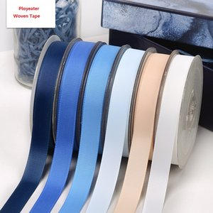 3mm 5mm Woven Polyester Ribbing Webbing DIY Sewing Ribbon Tape Gifts Package Tapes Clothes Accessories 196 Colors