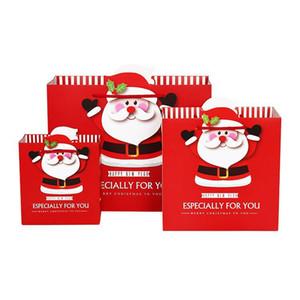 Christmas Candy paper bag Christmas gift bag white card kraft paper bag