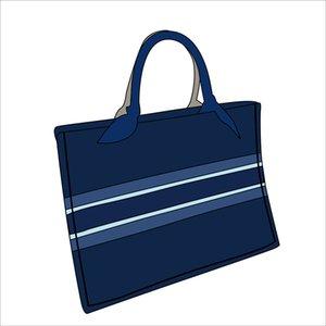 Top Brand 2020 Fashion 9 style Designer Sac fourre-tout sacs de toile de paysage ouvert Tote Casual ouvert de poche Sac à bandoulière Sacs