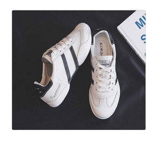 Net Dark Grey shoes 2019 autumn new wild flat Korean version of breathable sports casual shoes soft sole shoe summer 36-39