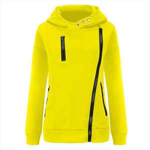 Womens Button Hoodies Pockets Women Casual Zipper Patchwork Hooded Long Sleeve Pullover Sweatshirt Tops Blouse Felpe Donna