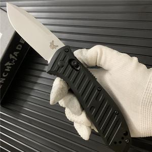 """Benchmade BM 5700 Presidio OTO Katlama Bıçak 3.72"""" Saten S30V Damlama Noktası Blade Öğütülmüş Siyah Alüminyum BM3300 BM535 UTX 85 70 Bıçak kolları"""