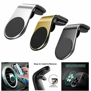 Magnetic Car Phone Holder - L Shape Compatible With Most Smart Phones Air Vent