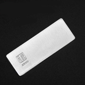10G 49*19*0.7mm Fine S999 Pure Bar Raw Material To Make Earring 999 Sterling Silver Investment 200925