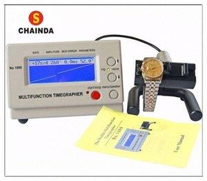 Weishi 1000 Relógio Mecânico sincronismo Máquina Assista Timegrapher para Repair + 1pc pano de limpeza J5HV #