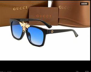 2020 lusso Occhiali da sole donne di guida Specchi dell'annata per le donne lente piatta riflettente Occhiali da sole femminile Oculos gg