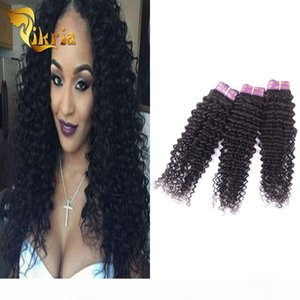 Brazilian Virgin Hair Deep Curly Indian Malaysian Peruvian 3 Piece 100% Human Hair Weave Bundles Unprocessed Human Hair Wefts