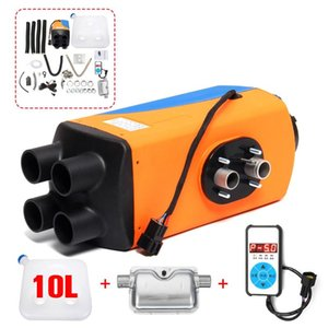 Car Heater 5KW 3KW 12V 24V Air Diesels Heater Parking With LCD Monitor Siliencer 10L Tank For RV Motorhome Trailer Trucks