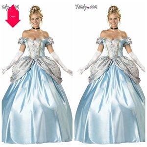 nX6fs Corte Servizio costume di Halloween neve Sisi abbigliamento Princess princess costume cosplay bianco costumeCinderella