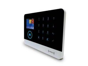 WCDMA 3G LCD Burglar Intruder Alarm System WIFI Alarmes Blue Flash Siren Camera Surveillance Surveillance Siren Alarm