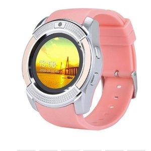 2020 V8 Smart Watch Men Bluetooth Sport Watches Women Ladies Rel gio Smartwatch with Camera Sim Card Slot PK DZ09 Y1 A1