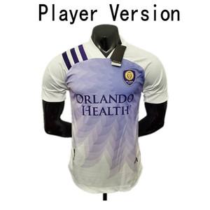 2020 Orlando Player versão Soccer Jersey 20/21 Cidade # 14 DWYER MUELLER afastado dos homens uniformes # 17 NANI Akindele MOUTINHO Football Shirt