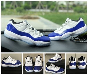 New Low White Bred 11 11s Men Women Jumpman Basketball Shoes 11 Low Wmns Concord Purple Space Designer Sneakers Trainer Chaussures