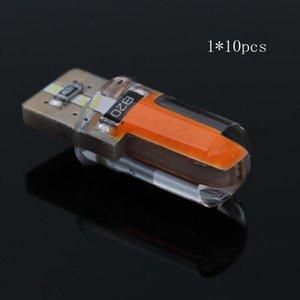 New Hot 10pcs T10 18 led chips High Power 3W car Bulbs Light Lamp Silicone parking car light source Flood Corn LED Bulb