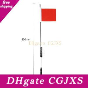 1pcs Modello Antenna L29cm Simulazione Line Signal Con Bandiera Per Trx4 Rc arrampicata Decoration auto Ricambi e Accessori