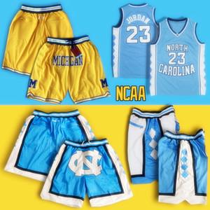 الكعوب NCAA شمال Carolinass قطران السراويل فقط دون 23 Michae ولاية ميشيغان كرة السلة السراويل