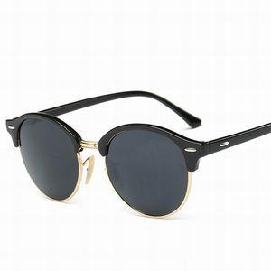 2020 Fashion Club Round Sunglasses Vintage Women Men Sun Glasses Eyeglasses for Ladies 4246 with cases