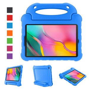 For Ipad 8th Generation 10.2 Inch 2020 EVA Foam Kids Full Protection Tablet Case With Detachable Shoulder Strap