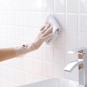 실리콘 세탁 가정용 청소 접시 세척 장갑 방수 실리콘 내마모성 및 내구성 청소 장갑 주방 청소 도구