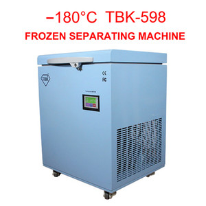 -180C  separator professional mass Freezing Machine TBK-598 for Samsung edge X LCD Touch Screen Separating Machine