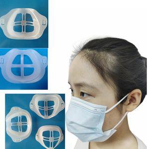 2Style 3D Mouth Mask Holder Support Breathing Assist Mask Inner Bracket Heat proof Masks Bracket Masks Breathable Valve Frame GGA3672