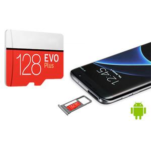 EVO 플러스 + C10 플래시 카드는 삼성 카메라 폰에 대한 소매 패키지와 메모리 카드 100메가바이트 / s의 속도 TF 마이크로 SD 카드 56 기가 바이트 64 기가 바이트