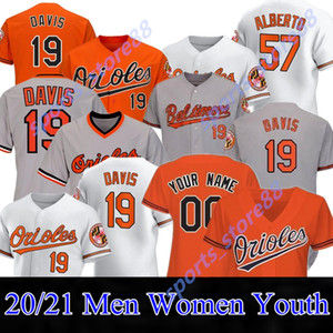 2020 Orioles Jersey 8 Cal Ripken JR 19 Chris Davis 16 Kolten Wong 10 Adam Jones 15 Chance Sisco 22 Jim Palmer 37 Dylan Bundy 25 Santande